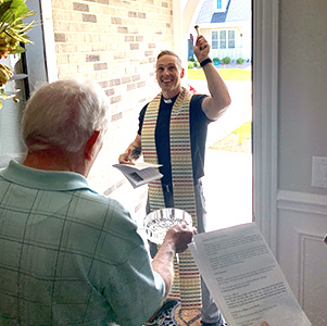 House Blessings - The blessing of a home is a recognition that God is present with us not only in church, but in the many places we live our lives. Fr. Ethan is happy to come to your home to offer God's blessing and protection.