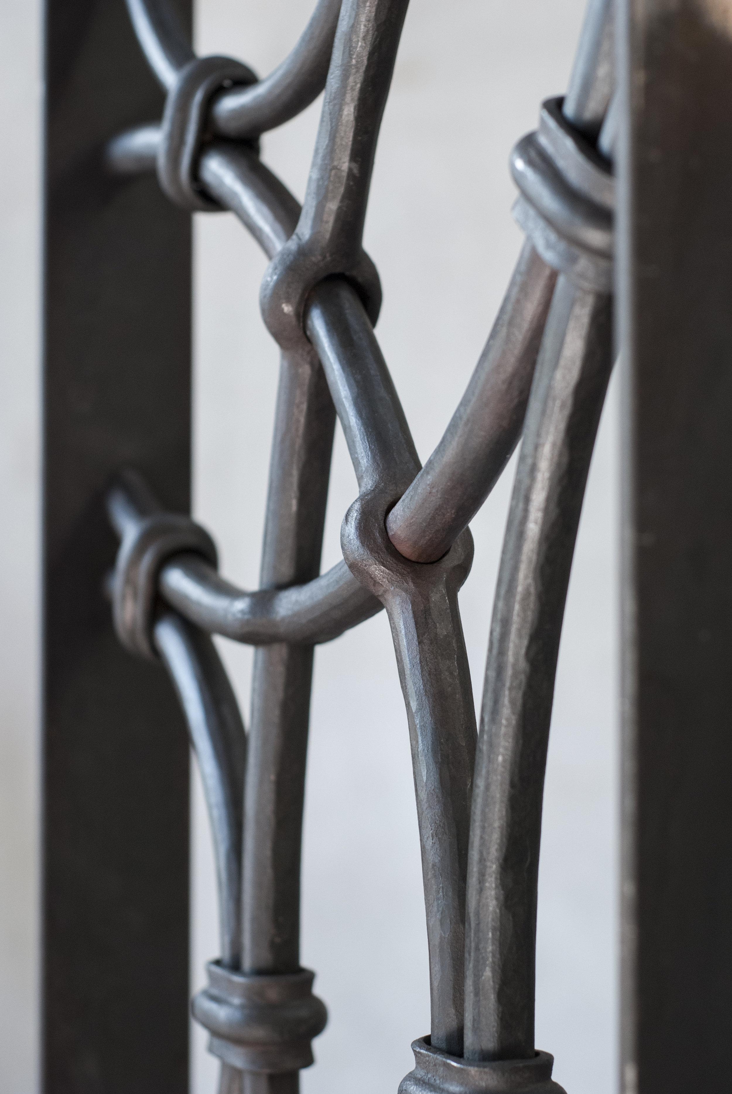 Linde Smide & Metallgestaltning. Galler design.