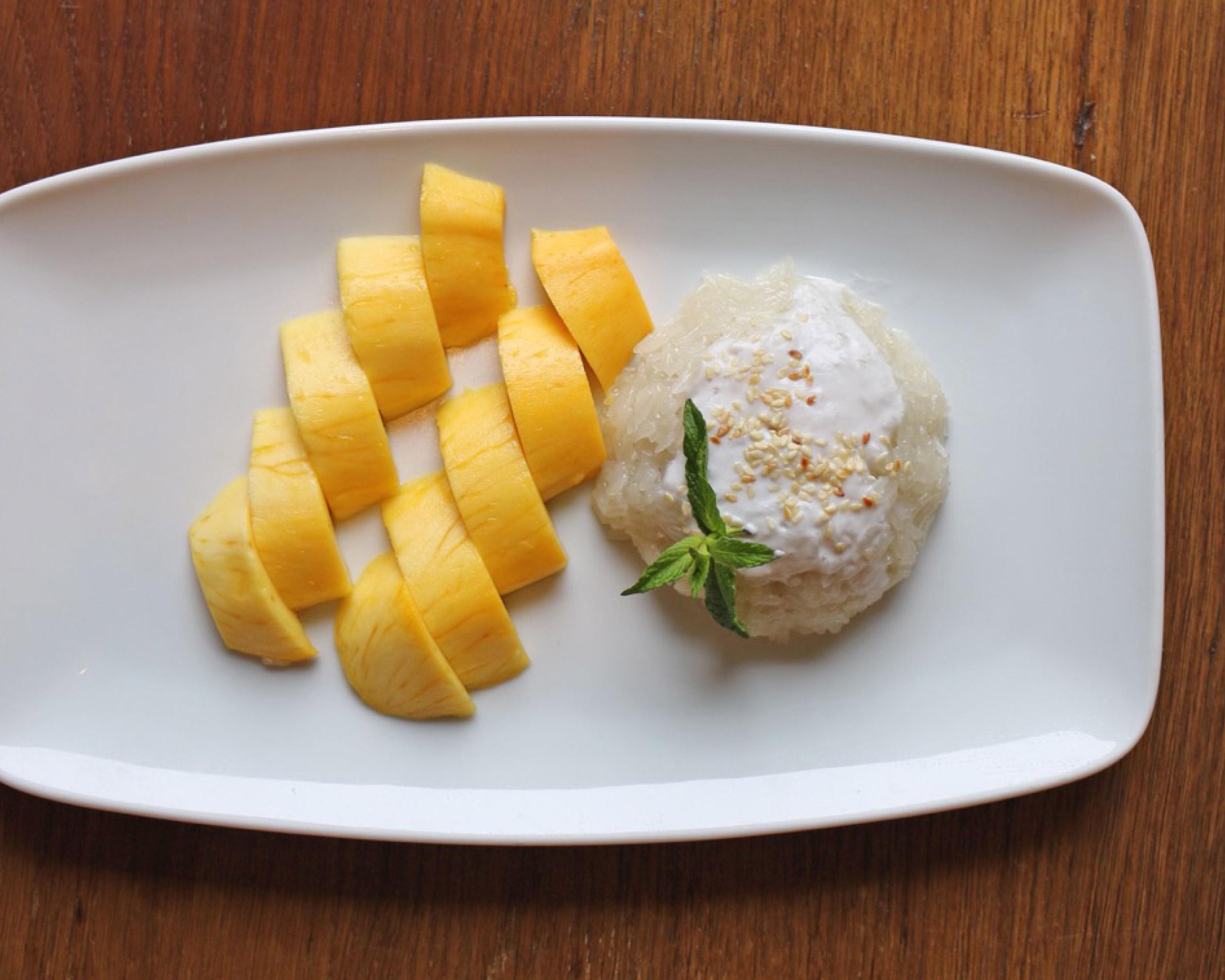 Mango and Sticky Rice