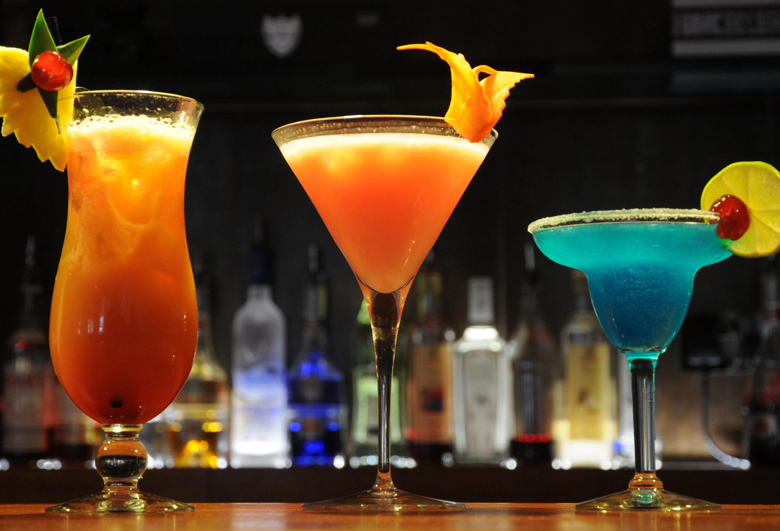 A Trio of Cocktails