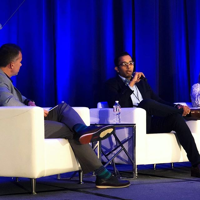 Shyam Alaparthy Principal Software Engineer @walmart talks about the future of the shopping experience, how our ideas go beyond the technology of the day and how the obstacles that face all of us in the industry will not hold us back #ewts2019 #AR #futureofretail