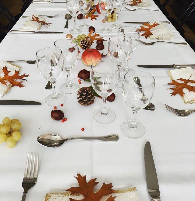 Table d'automne 🍂🍁🍄