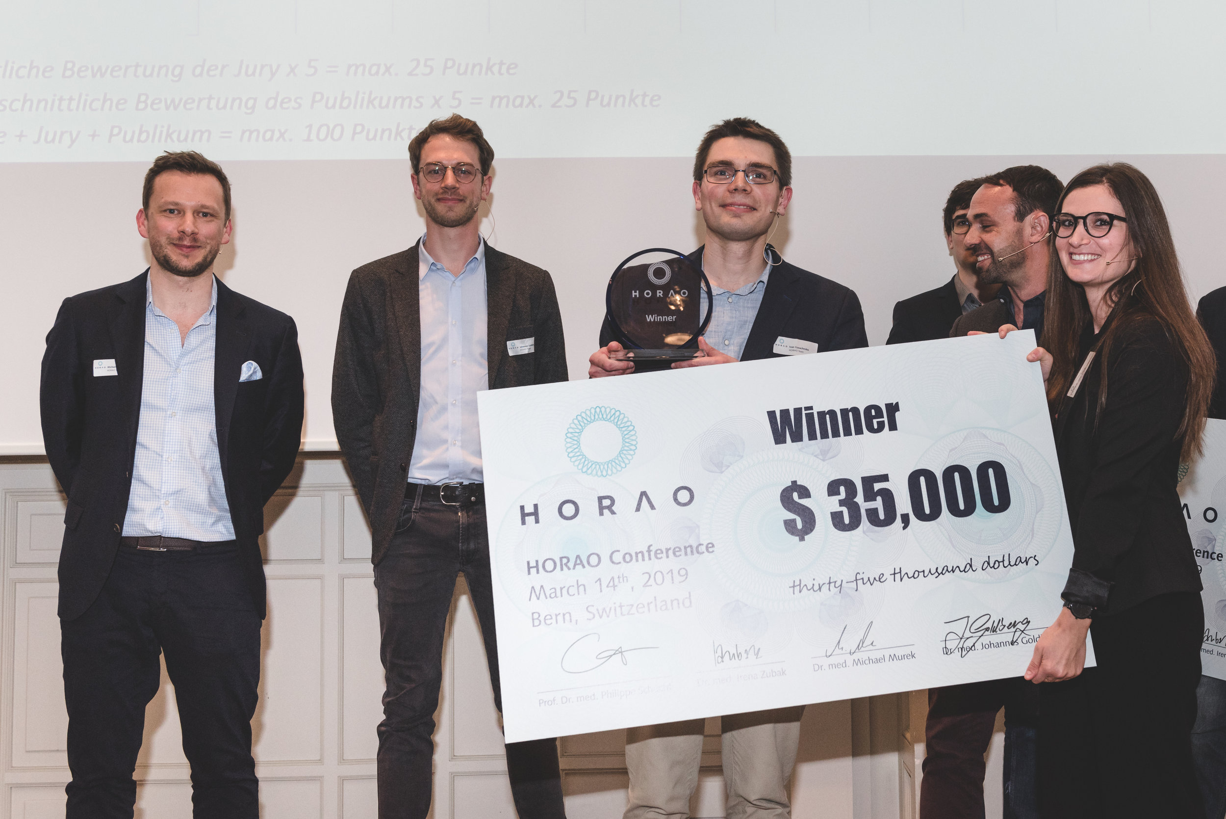 Ivan Gusachenko wins at the scientific HORAO Conference at the University of Bern
