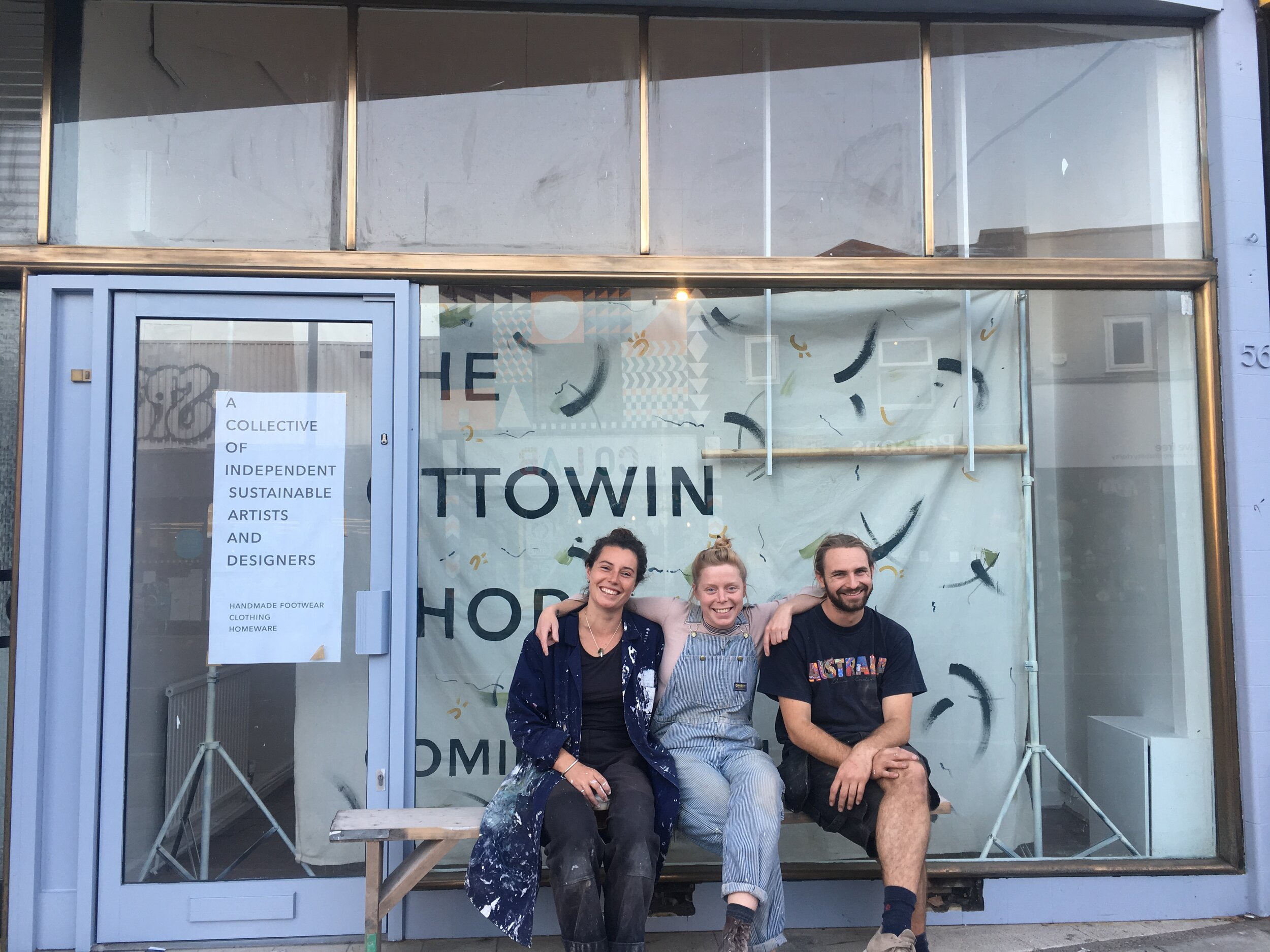 SAY HELLO TO THE NEW OTTOWIN SHOP ! :open party friday 27th 6-10pm :at 56 Gloucester Road :come see the space! :come see the makers! -