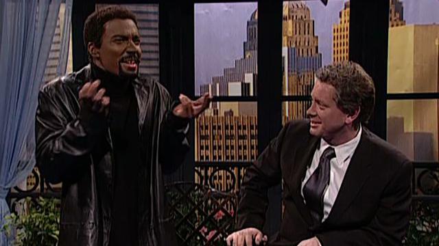 Jimmy Fallon as Chris Rock on Saturday Night Live