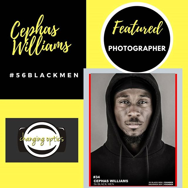 #56blackmen  Is a Photography Project by Feature Photographer @cephaswilliamss ✔ With a message that for every black man seen on the media wearing a hoodie, wanted for doing an alleged crime, there are 56 black men wearing a hoodie that are ...running families, running a business, being teachers, doctors, etc  #changingoptics  #photoactivism