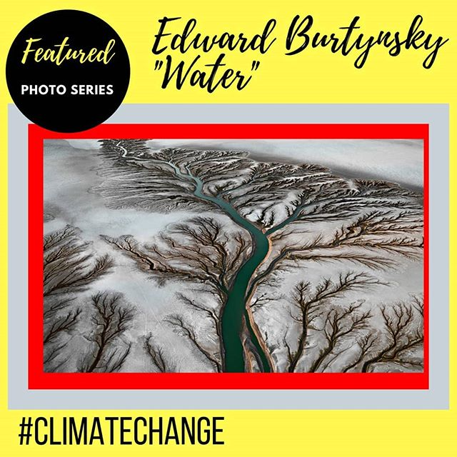 Edward Burtynsky has been tackling #climatechange issues via #dronephotography of areas effected in a way that people can really grasp the scope of what is going on in our world  #climatestrike #climatechangeisreal #climatecrisis #climatejustice