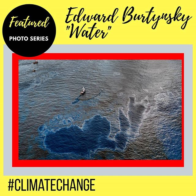 One more from Edward Burtynsky and his #photoseries on Water and the effects #climatechange
