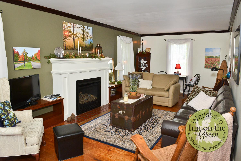 Wellsboro Inn on the Green Living Room