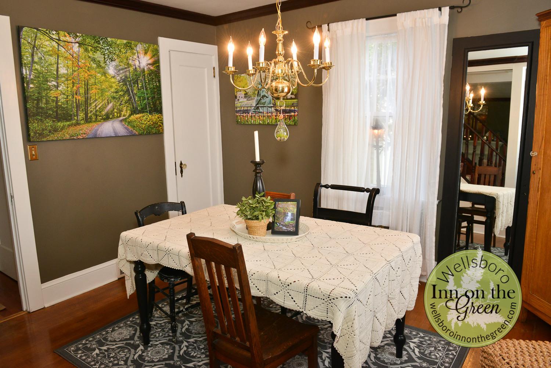 Wellsboro Inn on the Green Dining Room