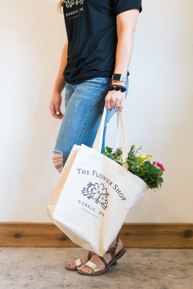 Flower Shop Tote - $20