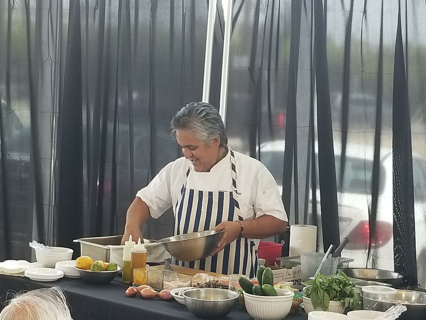 Summer Sizzler Series at Mercedes-Benz of Palm Springs / Raw food demonstration June 30, 2018
