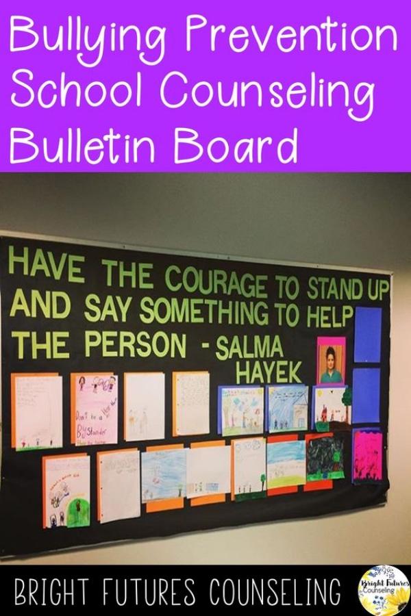 Elementary School Counseling Bulletin Board Ideas Bright Futures Counseling #brightfuturescounseling #elementaryschoolcounseling #elementaryschoolcounselor #schoolcounseling #schoolcounselor #bulletinboardideas