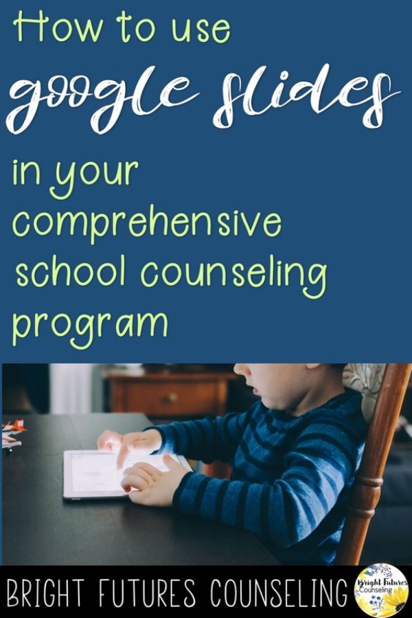 Create digital activities using Google Slides for your school counseling program. #brightfuturescounseling #elementaryschoolcounseling #elementaryschoolcounselor #schoolcounseling #schoolcounselor #digitalresourcesforschools