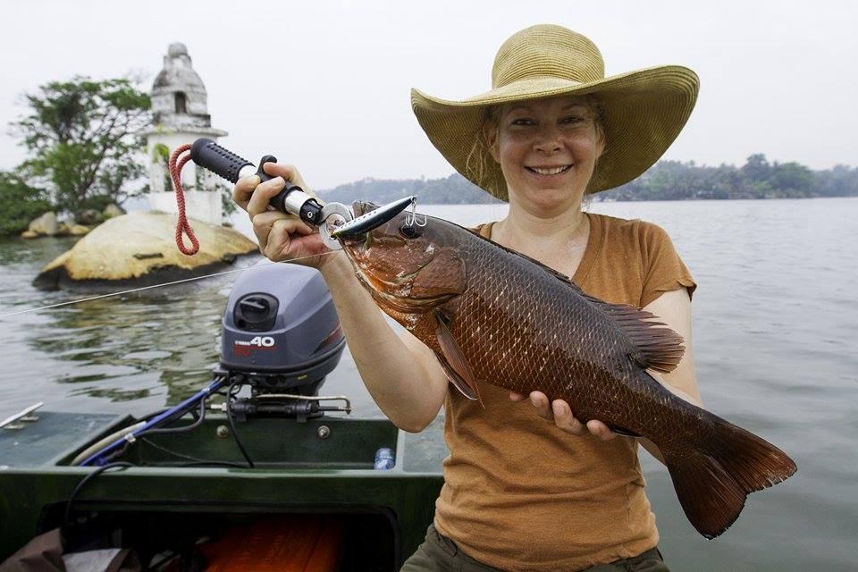 Mangrove Jack Rapala Fishing Bolgoda Lake Sportfishing Lanka