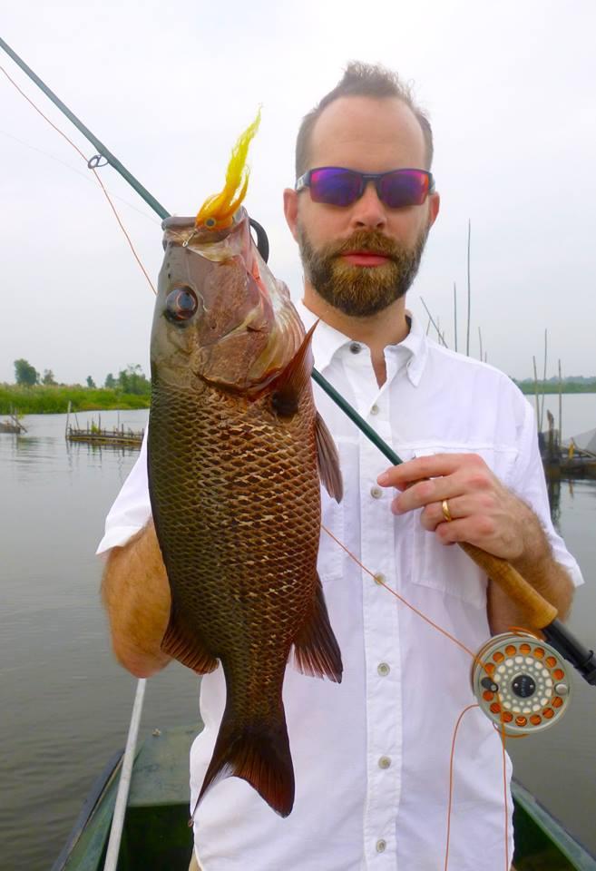 Mangrove Jack Fly fishing Bolgoda Lake Sportfishing Lanka