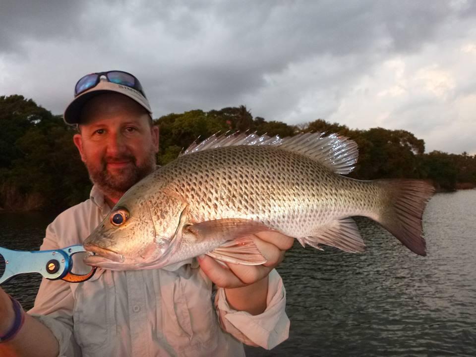 Mangrove Jack Ima Lure casting Bolgoda Lake Sportfishing Lanka