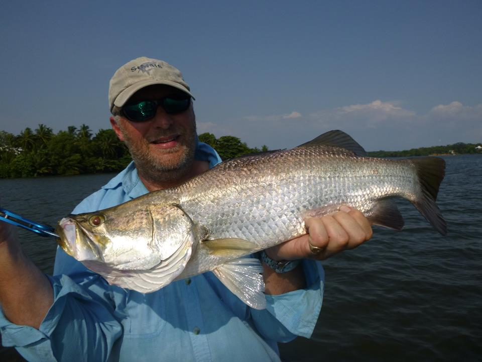 Barramundi Sportfishing Lanka Bolgoda Lake Maria lure