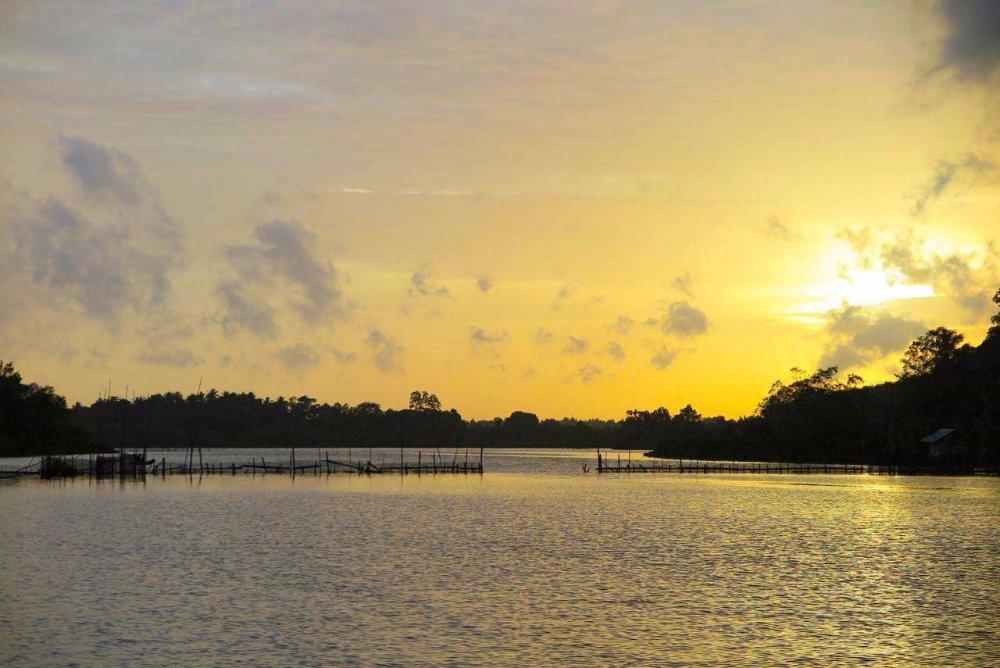 Angling Sri Lanka Bolgoda Lake Sunset