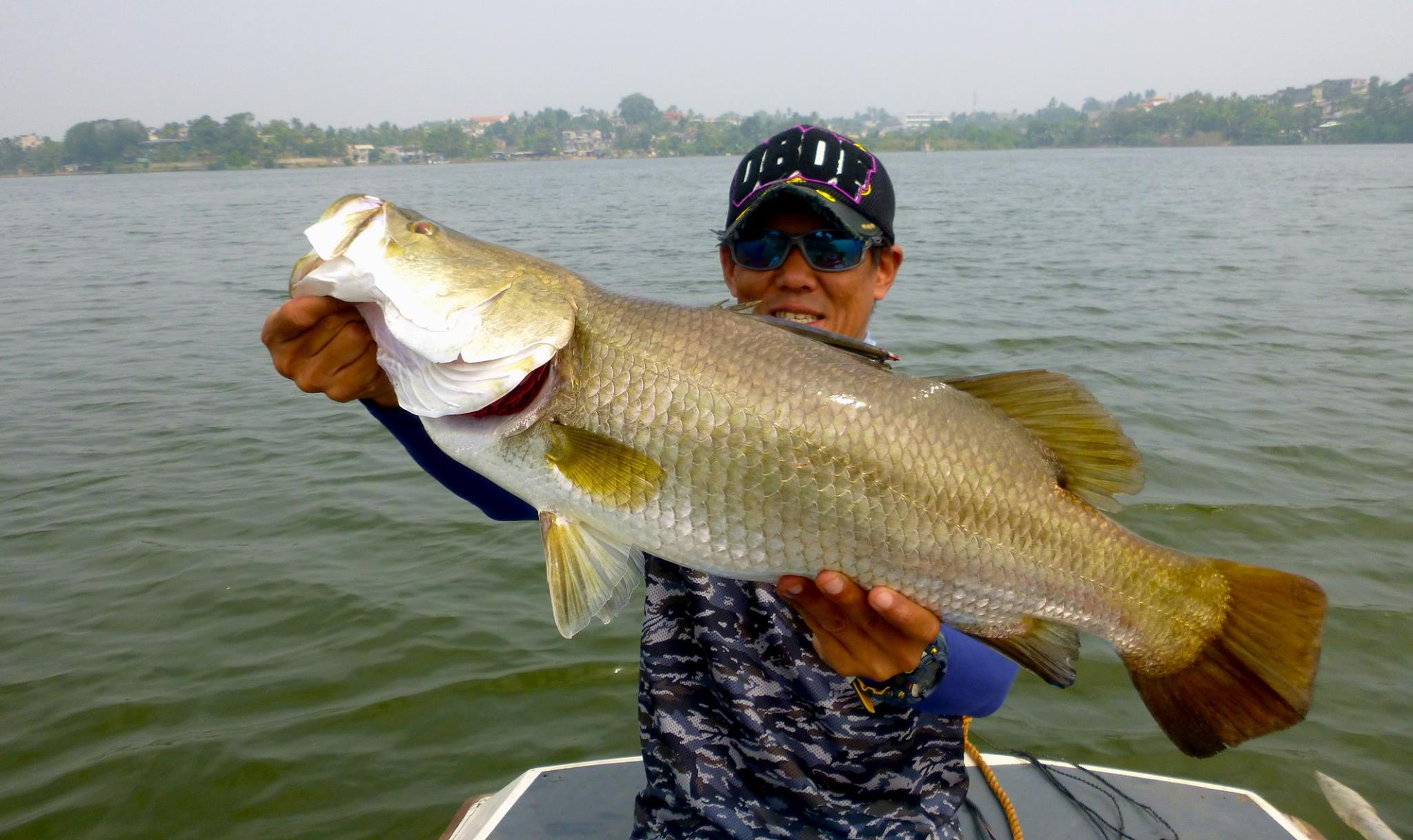 Barramundi fishing tour sri lanka Bolgoda Lake Sportfishing Lanka.jpg