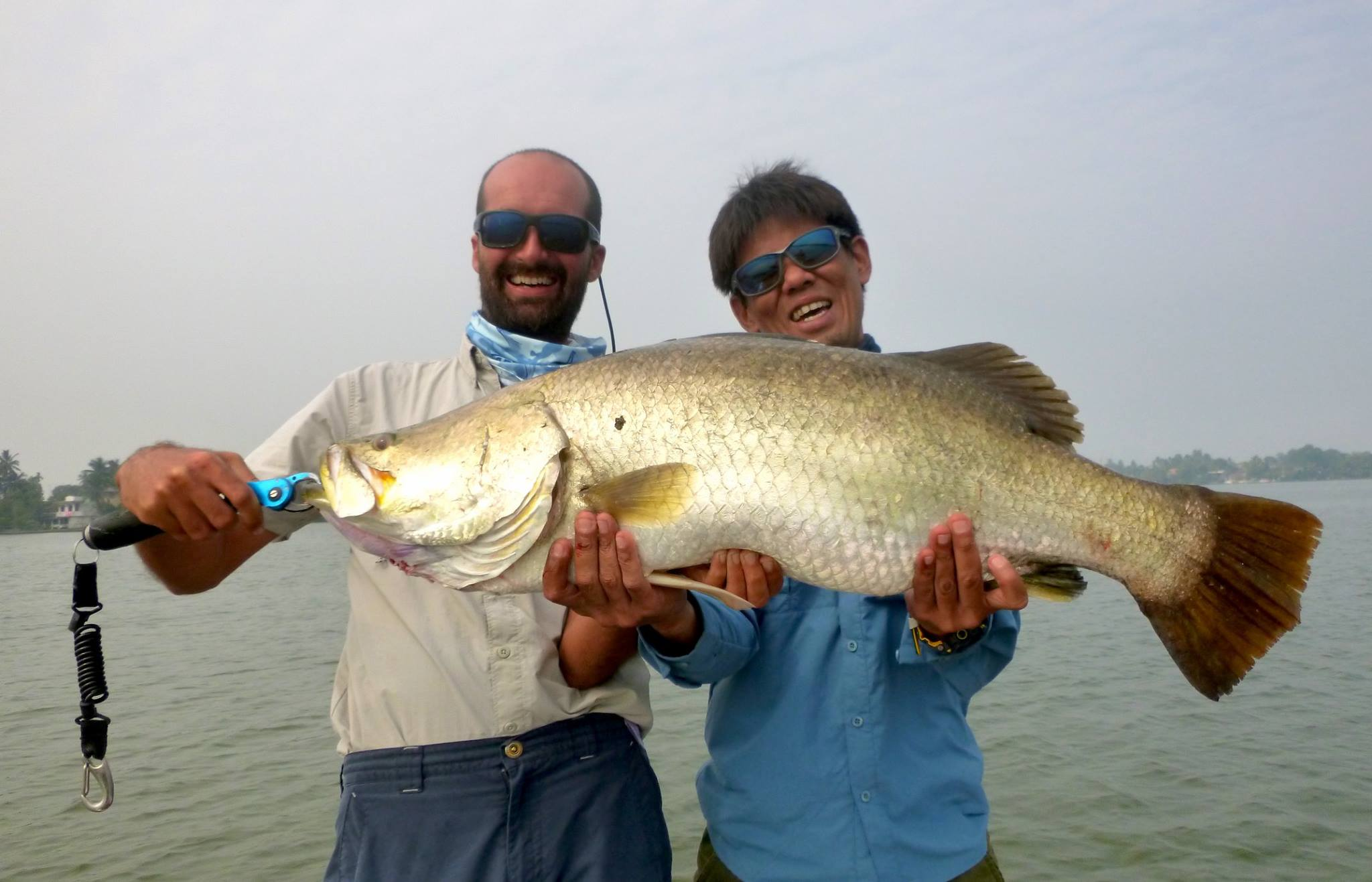 Sportfishing Lanka Barramundi fishing Bolgoda Lake.jpg
