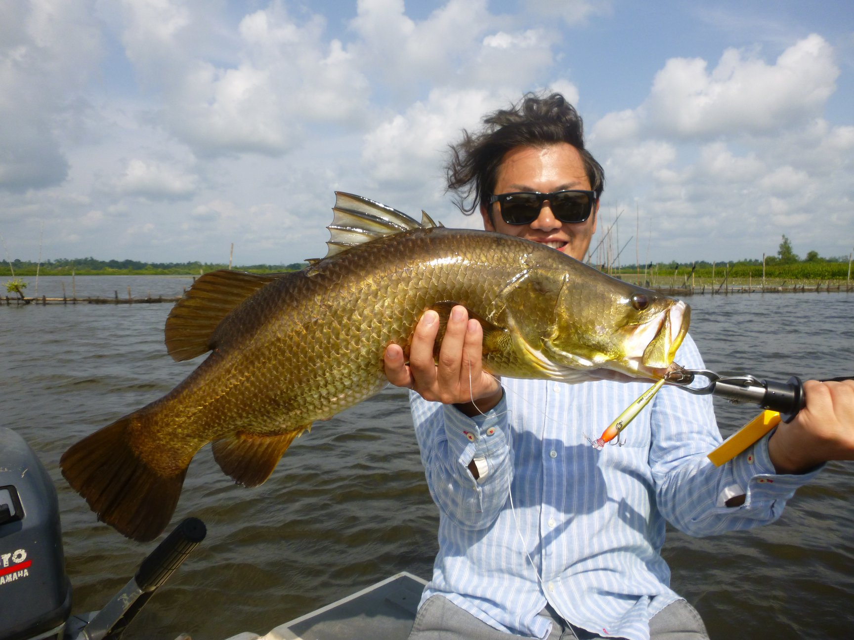 Barramundi fishing Rapala VMC Hook Bolgoda Lake Sportfishing Lanka.jpg