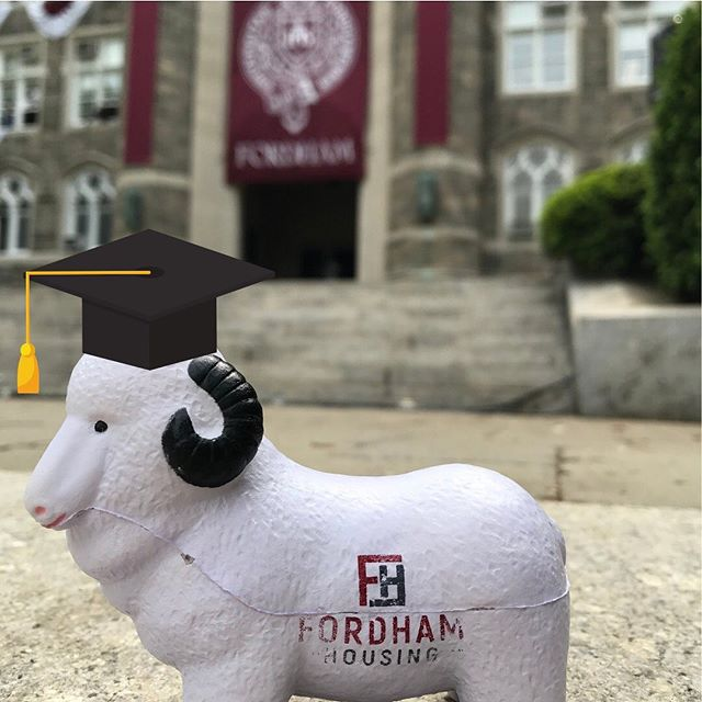 Congratulations class of 2019!! Good luck with your future, fellow Rams!! #gorams #apartmentsforrentnyc #nobrokerfee #classof2019 #college #graduation #congratsgrad  #goodluck #nycapartments #nycrentals