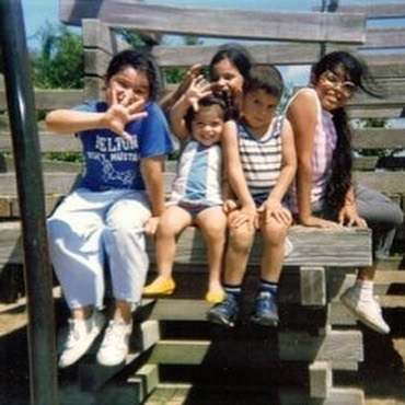 National Sibling Day... or whatever. I got a lot of them, even though they don't speak to me... there's still love deep down and some good memories when I can remember them. I'm the youngest one... i.e. the best one.