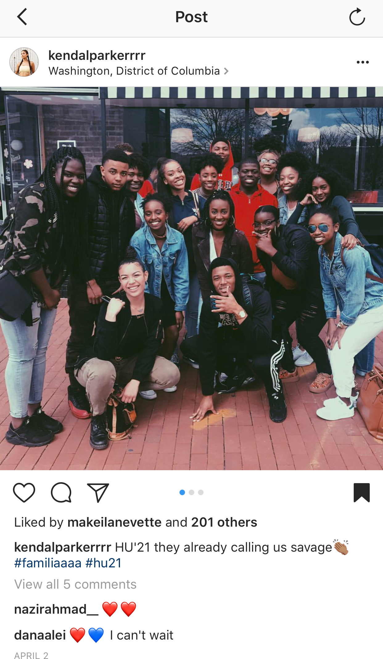 It all began with a hashtag #HU21 -