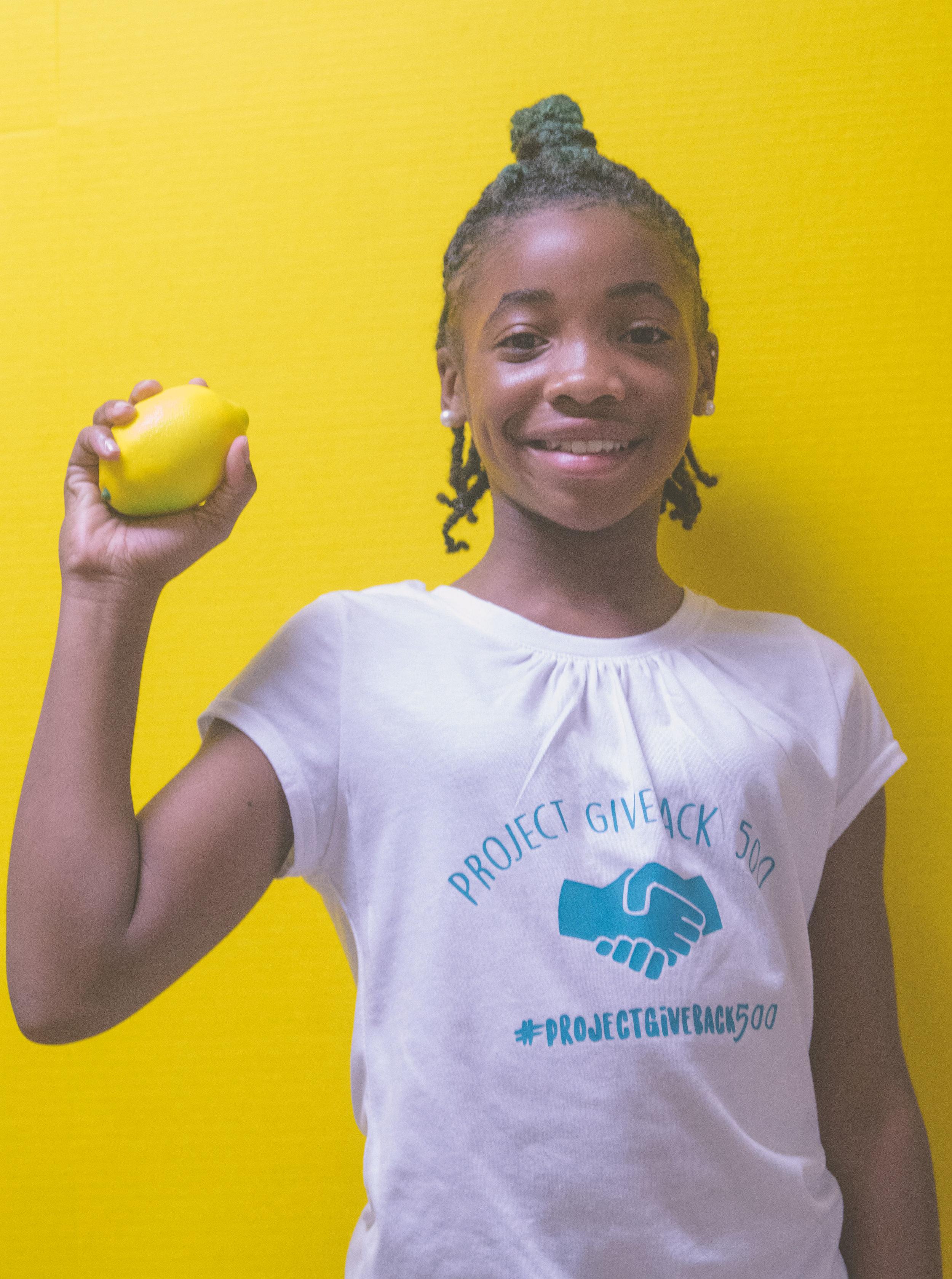 The Everyday Lemonade - DaShai Morton x Project Give Back 500