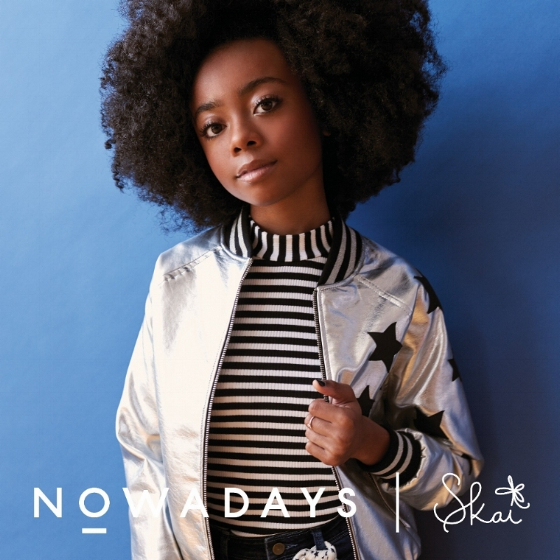 Skai Jackson debuts a new clothing line in partnership with Nowadays available at Macy's October 16, 2017. Photo courtesy of Nowadays.