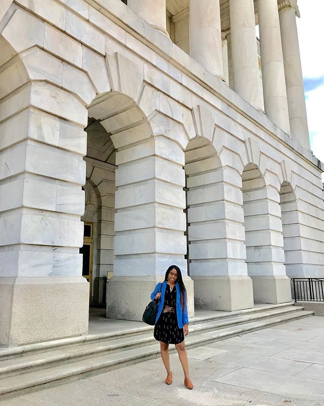 Write it down, pray, put in the work, and watch the life you want unfold.  This is me after teaching a Social Media Analytics course for the Democratic Caucus staffers on The Hill last week. #HeHasMoreInStoreForMe