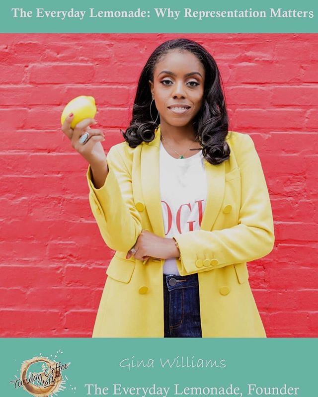 I added a little lemonade to @TuesdayCoffeeTalk podcast! Check out my interview discussing my platform @EverydayLemonade and why representation matters. 🔗 in bio.  Thanks @mamaxog for the opportunity to highlight the platform.  Photo: @natarshawright - fab photograpHER! Thanks for the dope images!