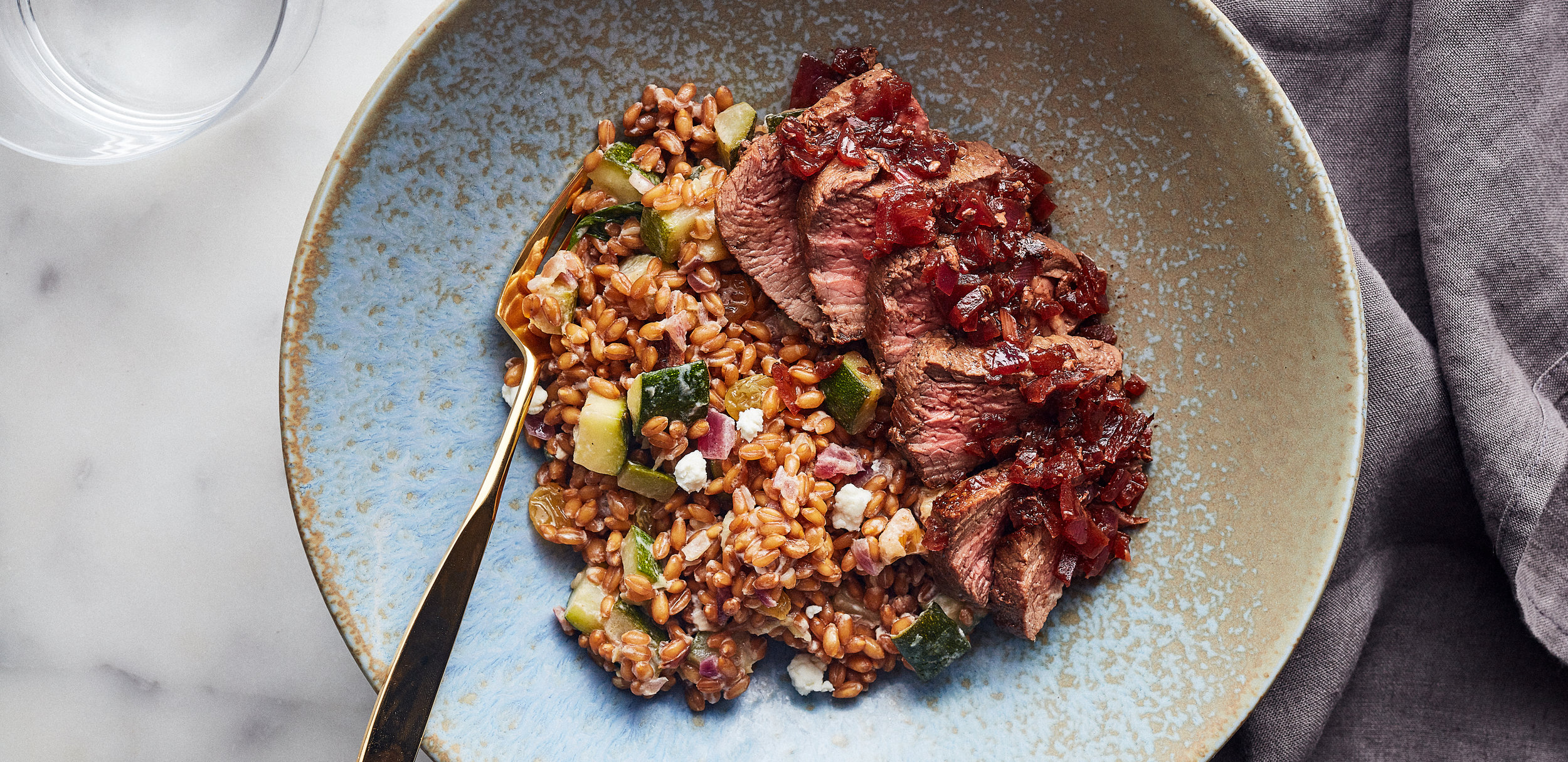 Steak and Wheat Berry Salad with Zucchini and Goat Cheese — 0011 — HERO.jpg