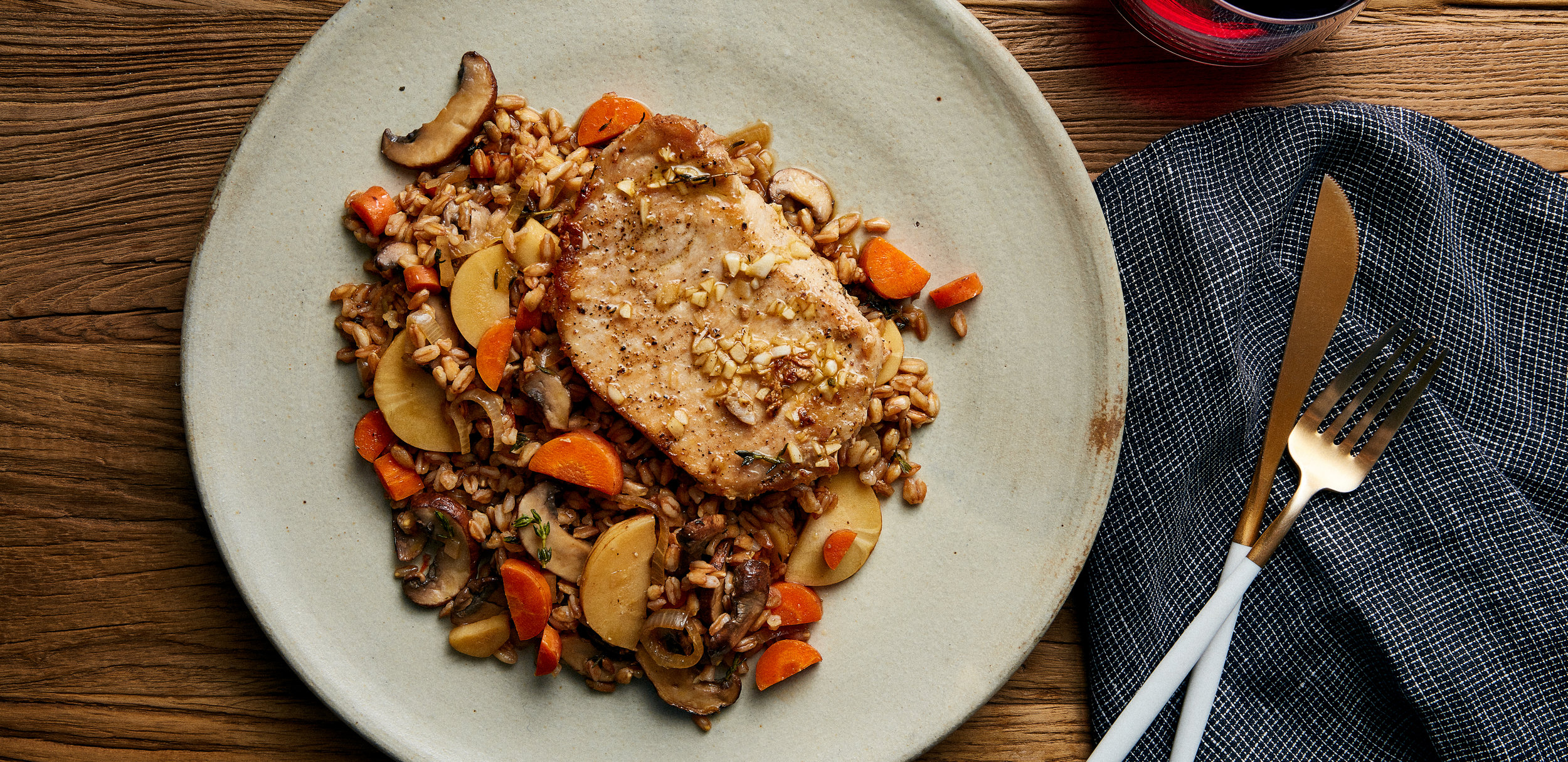 Herb Roasted Pork with Carrot, Parsnip, and Mushroom Farr — 0019 — HERO.jpg