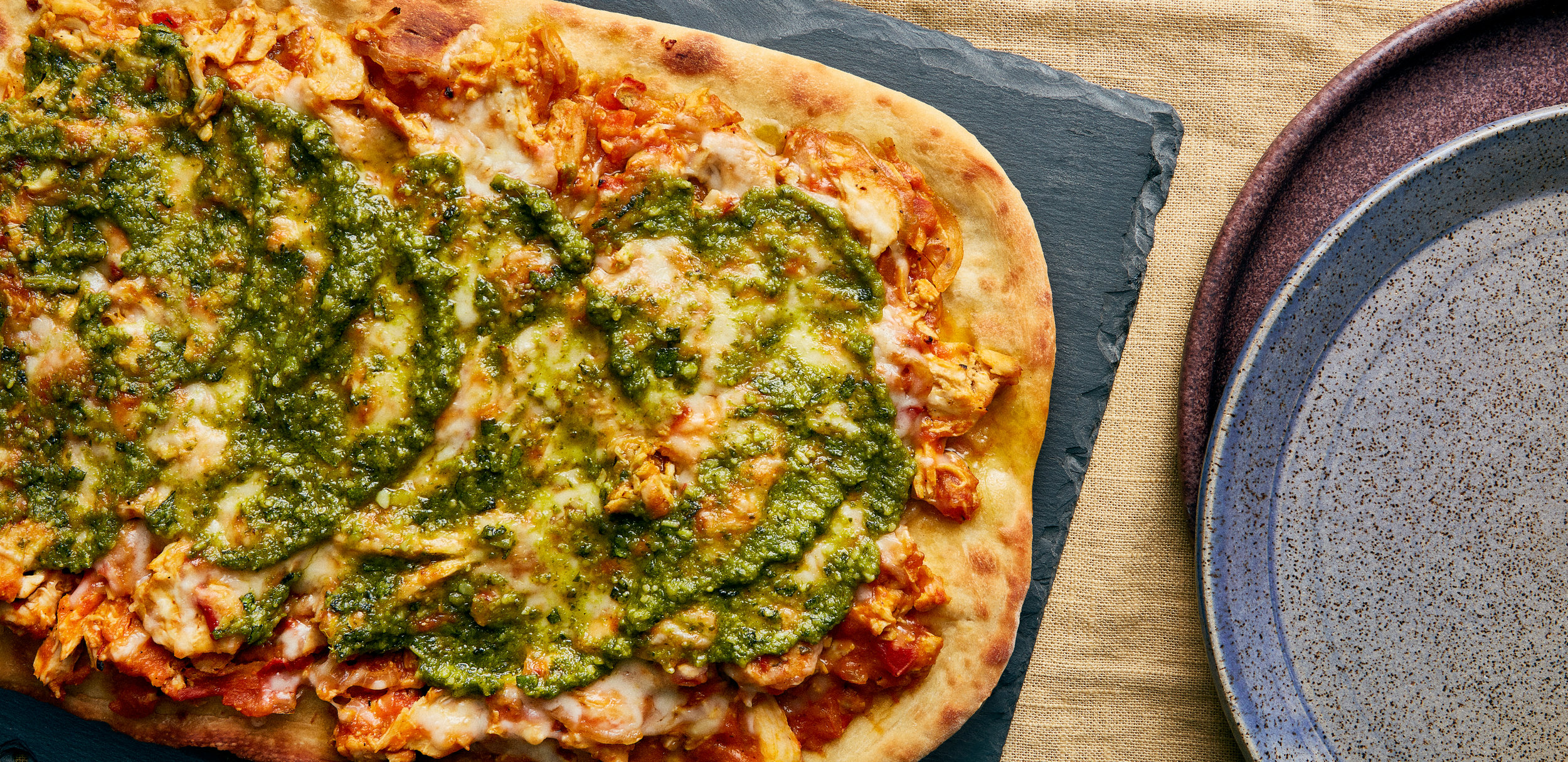 Pumpkin Pizza With Chicken and Sage Pesto — 0022 — HERO.jpg