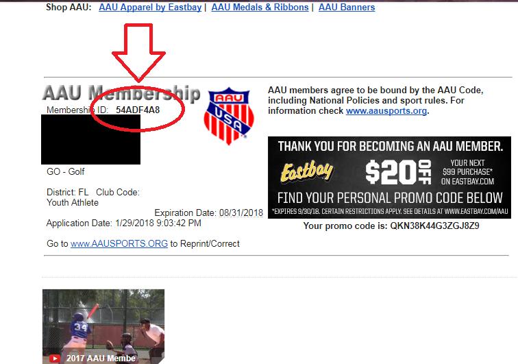 Email #2 - Membership ID -