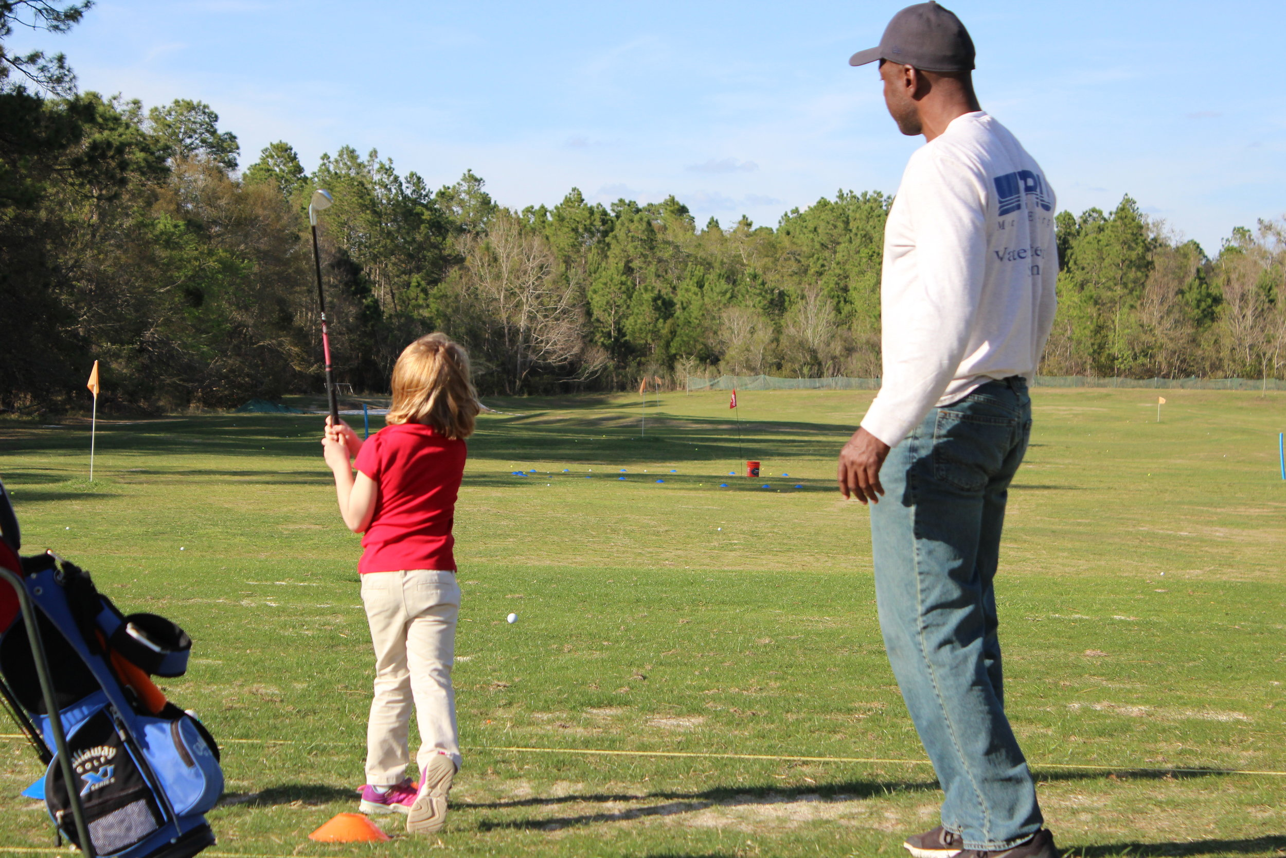 Week 1: Pre-shot routine and practicing -