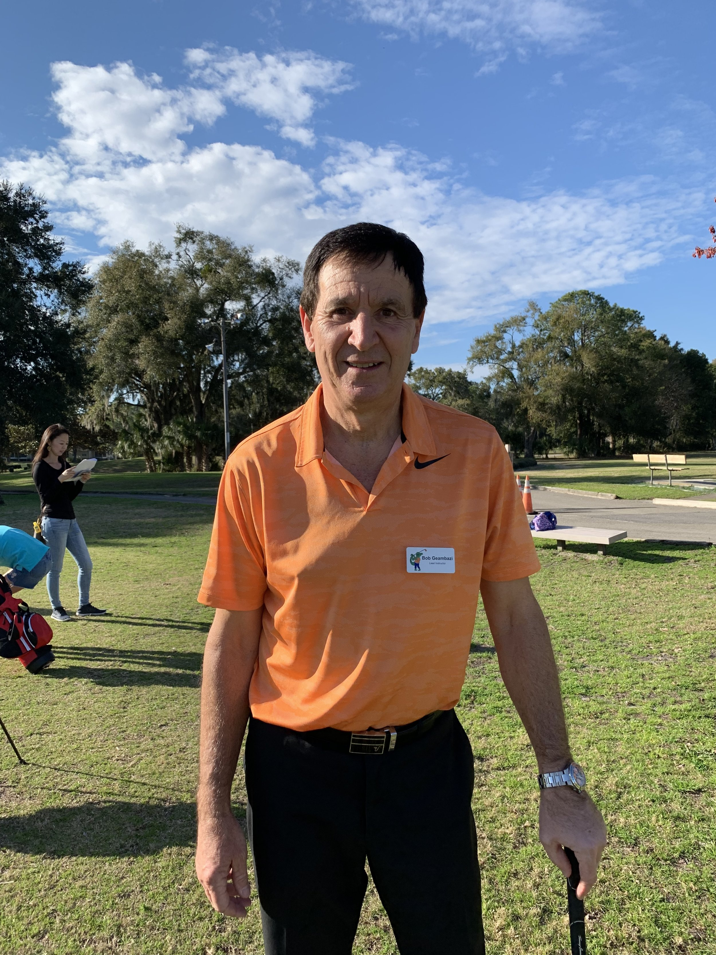 Bob Geambazi, PGA    Class A PGA Professional at Gainesville Country Club    Playing 2 Coordinator