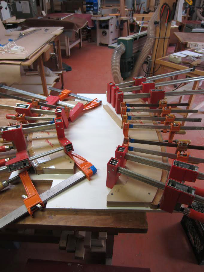 gluing laminations to forms