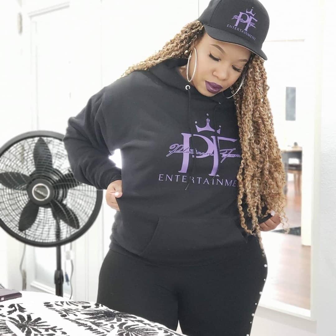 Platinum fam-hoodie -