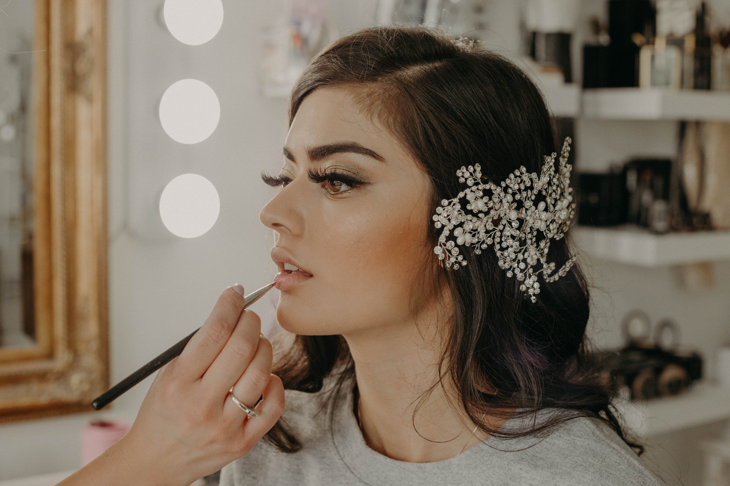 Special Event Makeup - $100.00*All makeup services include false lashes.