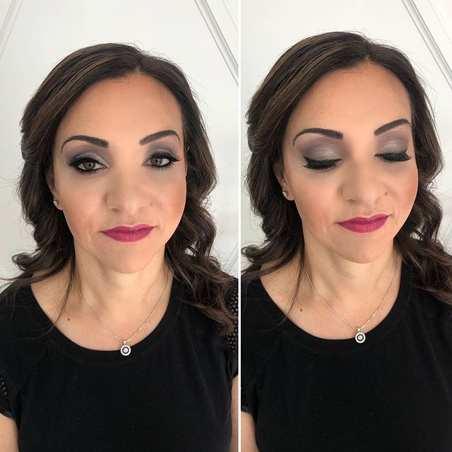 Smokey eye and a berry lip. I loved creating this glam look.  Hair by @glambysarrah #vancouvermakeupartist#yaletown#vancouver#yegmua#yvrblogger#vancouverbeauty#beautygram#vancouverartist#instamakeup#vancouvermodel#beautygram#kelownamua#anastasiabeverlyhills#vancouvermua#vancouverbridal#vancity#discoverunder5k#makeupbyme#prettylittleinspo#inssta_makeup#yegmakeup#bblogger#weekend#vancouvermakeup#yegmua#vancouverbusiness#wakeupandmakeup#vancouverbride