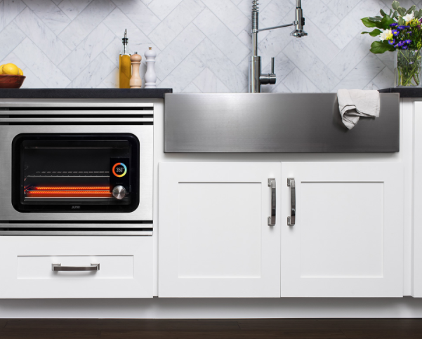 June Oven Pro : The Jetsons would be jealous of this oven, which uses internal cameras to identify the food inside and offer the perfect temp and timing. A Bluetooth enabled app controlling the oven allows for hands-off, stress-free cooking. Perfect for the low-key chef.