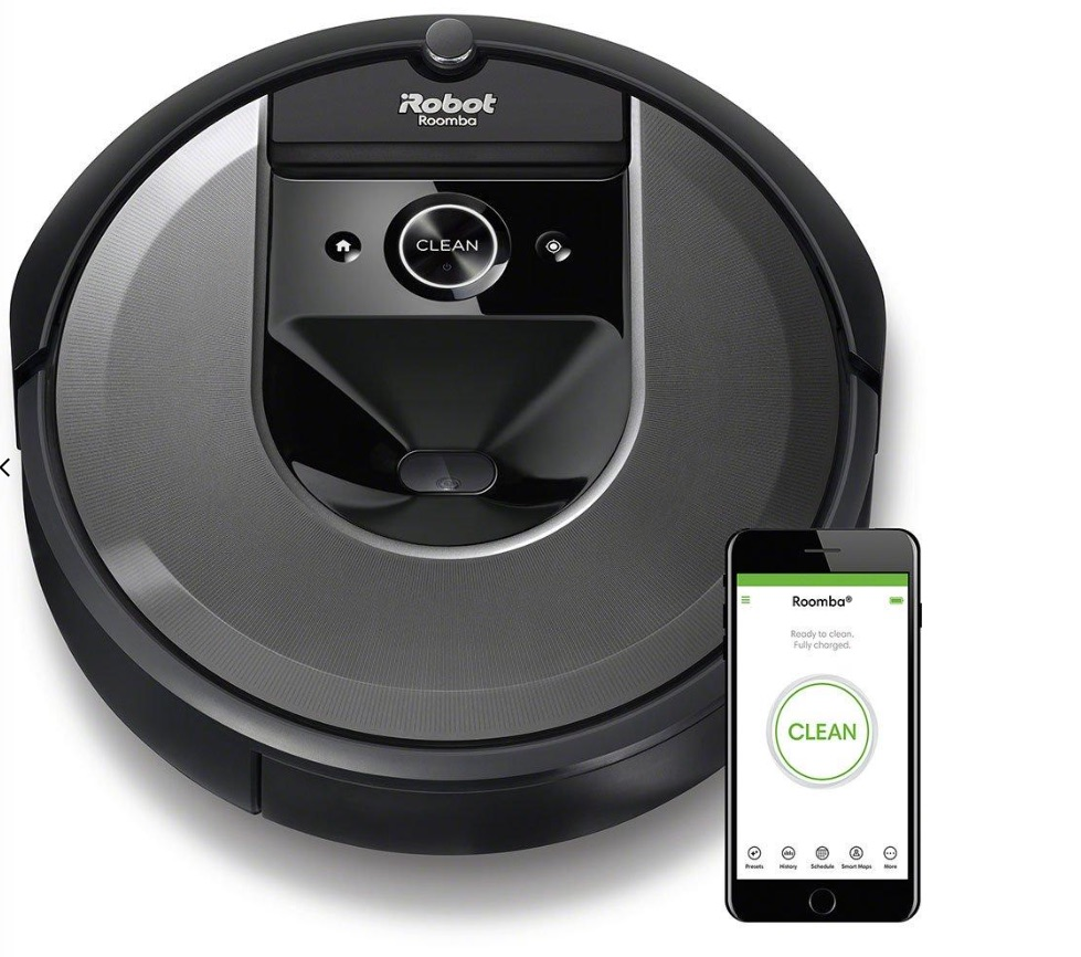 iRobot Roomba i7 : Put housework at your fingertips with this Wi-Fi connected vacuum cleaner that works on different floor surfaces and adapts to each room.