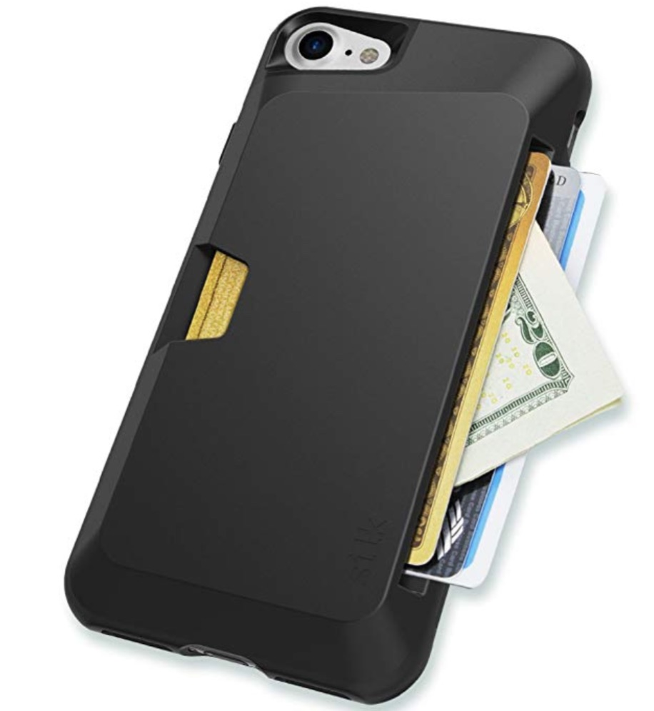 iPhone Wallet Case : Carry more than your phone with this case that also has room for cash and credit cards. This case puts everything at your fingertips.