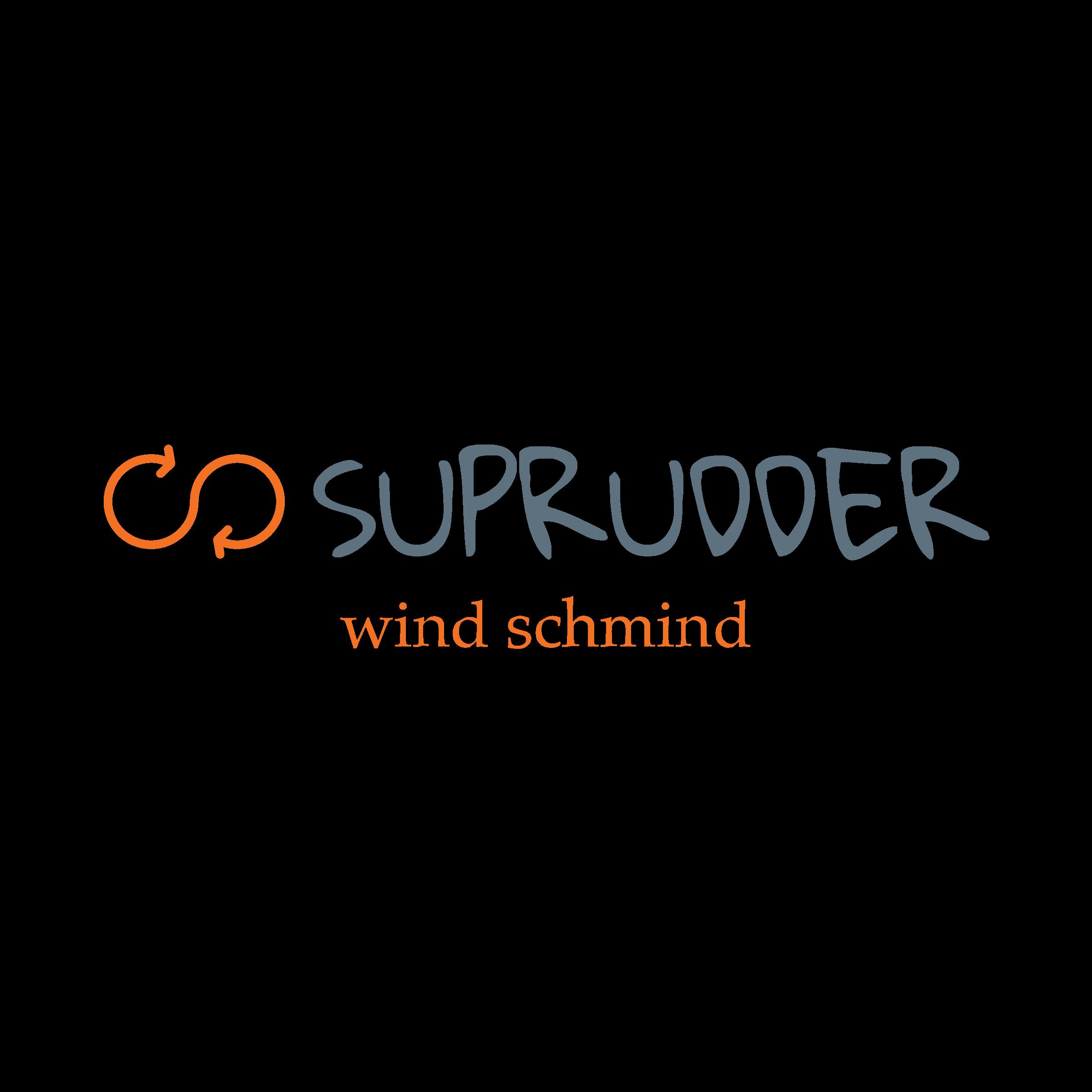 Suprudder logo, wind schmind