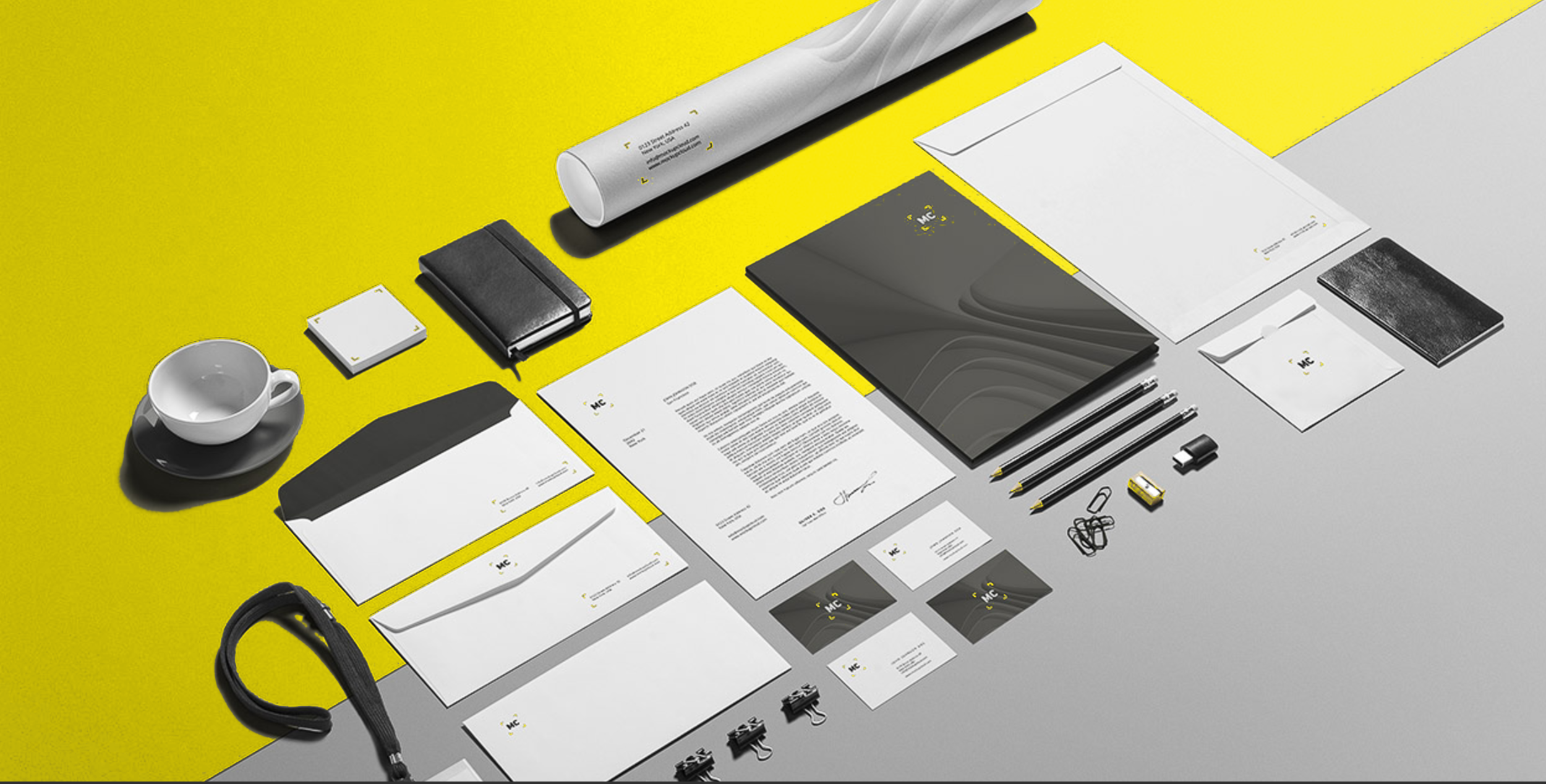 We're dedicated to making you look great on paper. -