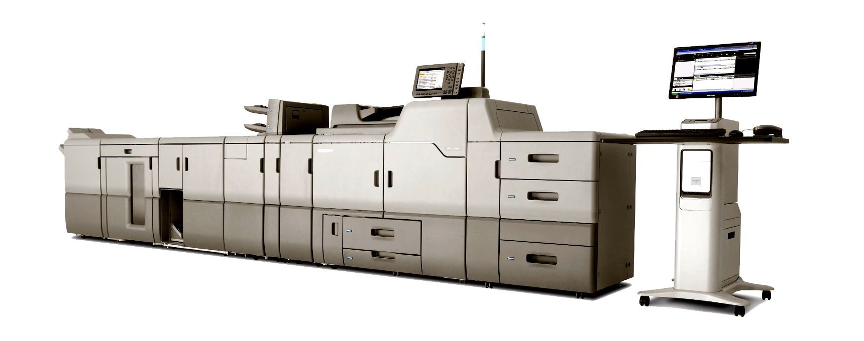 We can print all of your large orders. - View our Printing Services