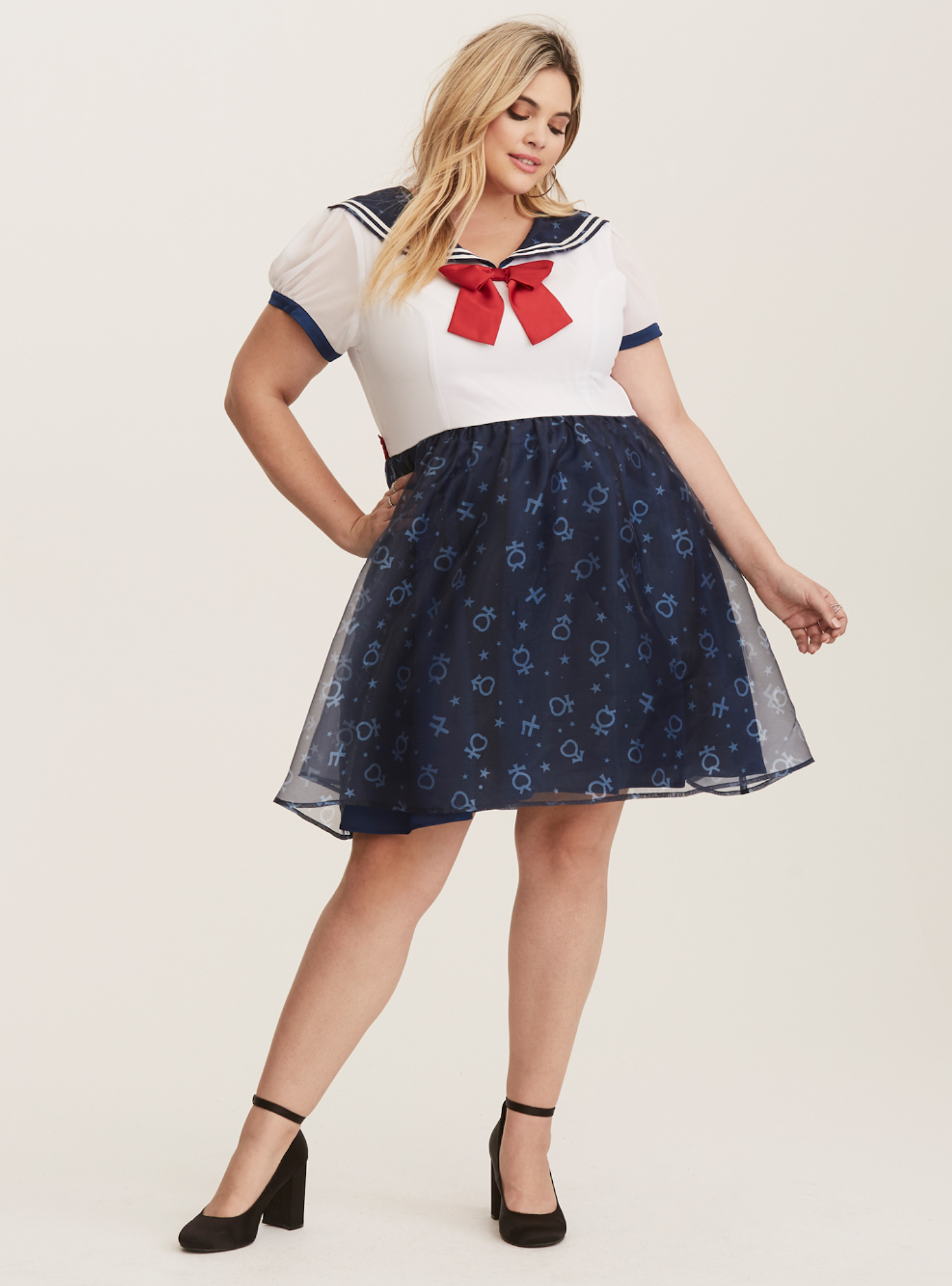 Skater dress. Photo credit: Torrid